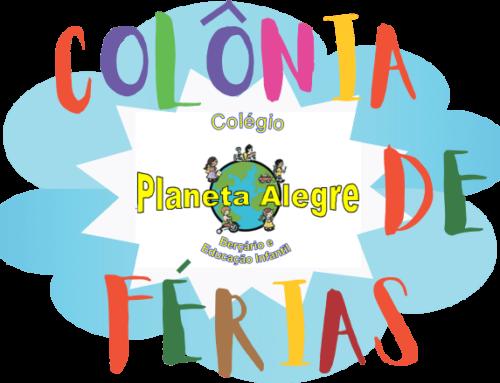 LOGO COLONIA DE FERIAS – COLÉGIO PLANETA ALEGRE