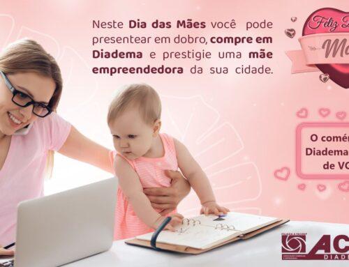 Campanha e Social Mídia – Dia das Mães ACE Diadema – 2021